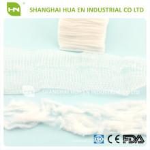 100% Baumwolle Absorbent Sterile Einweg Chirurgische Gaze Schwämme / Gaze Pad / Gaze Tupfer