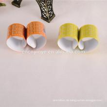 Reflektierende fluoreszierende PVC benutzerdefinierte Schlag band