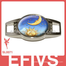 Bracelete popular do paracord com encantos do metal no alibaba