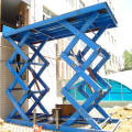 Standard Car Cargo Lifting Static Scissor Lift