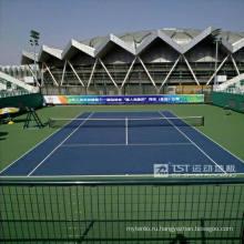 Спортивный напольный теннис ПВХ с стандартом Itf