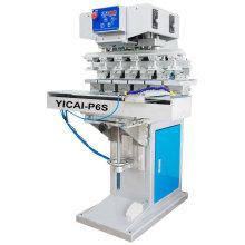 P6S printing pad printer high precision machine