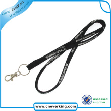 Print Logo Custom Tubular Lanyard with Bulk