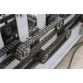Techo de acero galvanizado de doble cubierta que forma la máquina