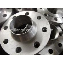 Flange WN UNI 2280-2286 em aço inoxidável