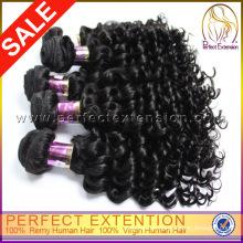 Distributor wollen synthetische Haare indische verworrene lockige Remy Haarwebart