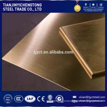 brass sheet metal/ brass sheet 2mm/ 0.5mm thick brass sheet