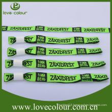 Factory customized wristbands/woven cloth bracelet