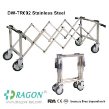 2014 Stainless Steel funeral Stretcher