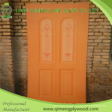 Glossy 915X2135X2.7mm HPL Polyeater Door Skin Plywood From Linyi