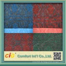 Hohe Qualität 100 % Polyester bunt gestreiften Teppich