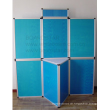 Faltbares Display-Panel-System (Aluminium Framed Boards)