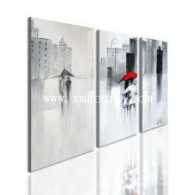 Decoração Home moderna Pintura a óleo da arte da parede (novo-335)