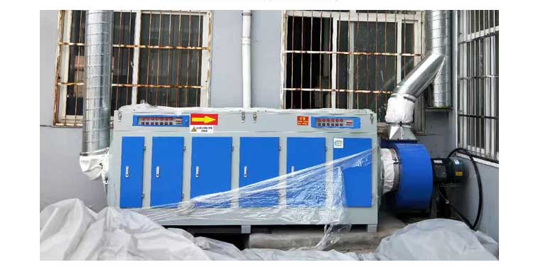 UV light oxygen purifier waste gas treatment equipment