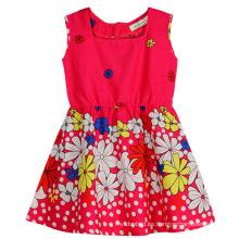 Vestido de flores de moda en ropa de vestir para niños con Apprael Sqd-149