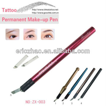 Metal Metal Eyebrow Microblading Tattoo Pen for Permanent Maquillage
