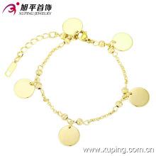 73577 xuping moda top venda pulseira com ouro 14k chapeado para as mulheres