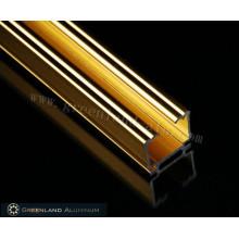 Высокое качество яркого золота с алюминиевым окном с глухой головкой