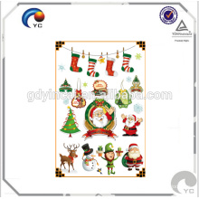 Christmas party decoration tattoo stickers for kids 2017