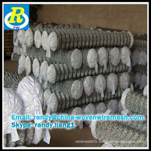 pvc coated or hot dipped galvanized chain link fence factory