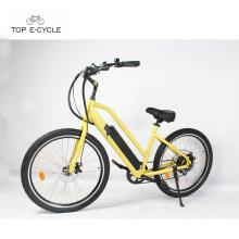 Puissant 1500w arrière moyeu roue moteur électrique plage cruiser vélo