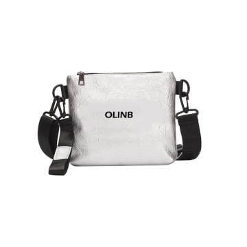 Impermeable PU de cuero Mini mujeres Messenger Crossbody Bag