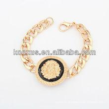 Braceletes pulseira de jóias bracelete pulseira de liga de fabricação