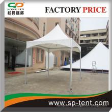 Canopée de tension 3mx3m en structure en aluminium pour fête de jardin