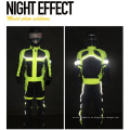 Chaqueta de la motocicleta reflectante impermeable protectora personalizar Motogp Racing Suit traje de la motocicleta de cuero Racing Pant