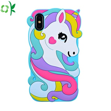 Custodia per cellulare in silicone per unicorno per Iphone
