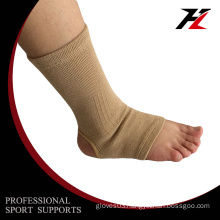 Elastic breathable pull-on compression ankle brace