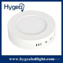 12W high brightness , round , surface mounted led panel light