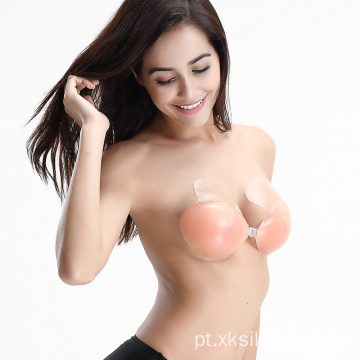 Fechamento frontal silicone push up bras