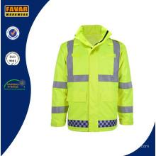 Hi-Vis Wasserdichte Traffic Police Jacket