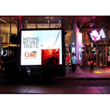 Outdoor Full Color Trailer Voertuig LED Display