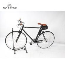 2018 New design fashion city racing ebike única velocidade fixa engrenado bicicleta elétrica