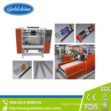Rouleau de feuille aluminium semi-automatique haut de la page faisant la Machine