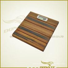 Balanza de colores de madera para el hotel