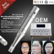 Microneedle digital eléctrico de la terapia Derma Roller Pen (ZX12-16)