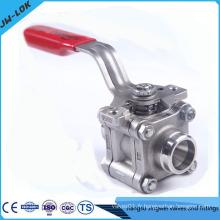Vanne à bille en acier inoxydable CF8M