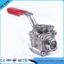 "1/2 ""NPT 3 Piece 3Pc 316 Stainless Ball Valve"