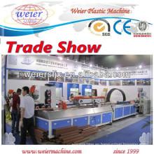 Cubierta/piso/valla de WPC PE PVC que hace la máquina