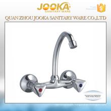 Hot selling chorme 2 holes basin mixer taps