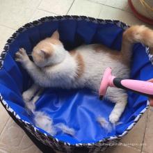 Baignoire de bain portative extérieure pour la petite piscine d'animal familier
