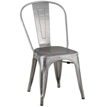 Tolix Chair Dining Room Metal Brushed Galvanizing Chair