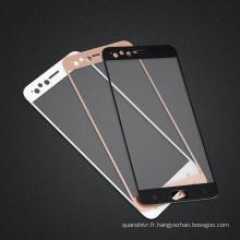 2.5D Soie Printing Oneplus 5 Protecteur d'écran en verre trempé, protecteur d'écran en verre trempé de haute qualité pour Oneplus 5