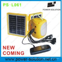 Viene nuevo chino linterna Solar 2W con más rápido Cargador Solar