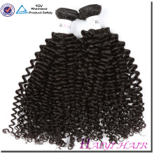 Alibaba express Cambodian vierge cuticule humaine Kinky Curl cheveux non transformés