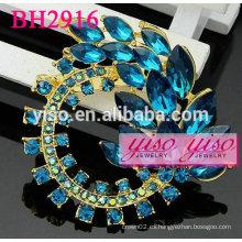 Broches de moda hermosa rhinestone