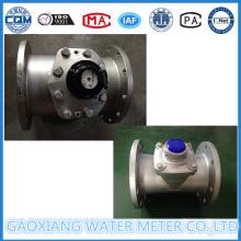 Medidor de agua Woltman de acero inoxidable desmontable de gran calibre
